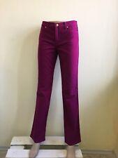 Versace women's fuschia jeans