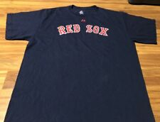 Victor Martinez Boston Red Sox Majestic XL Shirt Jersey Blue Road MLB 41 2009