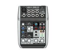 Behringer Q502USB 5-Input 2-Bus Mixer, XENYX/EQ - Used
