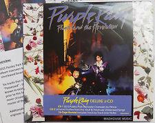 PRINCE CD x 2 Purple Rain DELUXE 2 CD set EXPANDED Remastered 2017 + Pro Sht