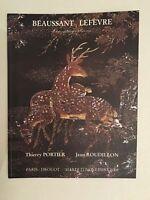 Catálogo De Venta Béaussant Lefevre Art Asia Drouot Noviembre 2006