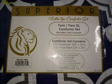 Superior Comforter Set Twin/Twin Xl. 2 Pc. New