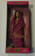Barbie Collectibles PRINCESS OF INDIA Dolls Of The World Collection 2000 NRFB