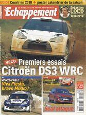 ECHAPPEMENT n°510 02/2010 MONTECOARLO DS3 WRC LEON CUPRA R & SUPERCOPA