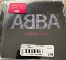 *NEW* Abba Number Ones CD 18 International Hits SEALED but Crack in Plastic