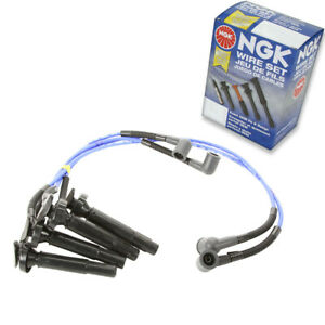 1 pc NGK Spark Plug Wire Set for 2005-2009 Subaru Outback 2.5L H4 - Engine mp