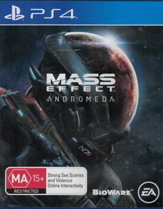 Mass Effect Andromeda, Playstation 4, PS4 game Complete, Used