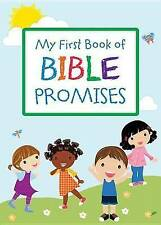 Very Good, My First Book Of Bible Promises Paperback, Compiled By Barbour Staff,