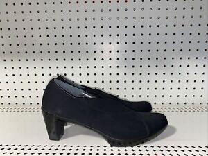 Naot Lucente Womens Stretch Pointed Toe Pumps Heels Size EU 40 US 9 9.5 Black