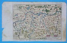 1655 PIRACKA MAPA POLSKI POLEN MAŁOPOLSKA Schlesien ŚLĄSK PLESS Bielsko=Biała