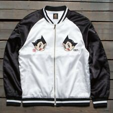 NEW BAIT x Astro Boy Men Moon Souvenir Jacket black white Size XL 100% Authentic