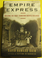 Empire Express 1999 History of First Transcontinental Railroad Great Pics See!