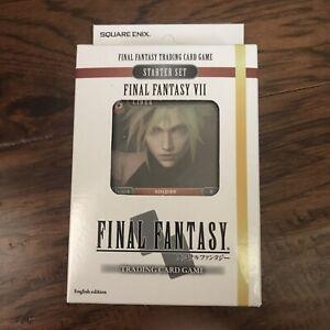 Square Enix Final Fantasy 7 VII Starter Set Final Fantasy Trading Card Game