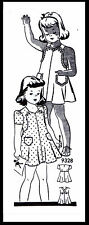 Sunsuit Playsuit Pattern BABY GIRL Child KIDS Dress Frock MARION MARTIN 9328 ~2~