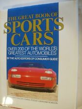 Great Book of Sports Cars by Consumer Guide Editors. 1988, Hardcover. 420 pages