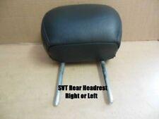 SVT Black Leather Back Rear Seat Headrest Head Rest 2002 2003 2004 Ford Focus
