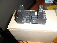 IMO Precision Controls  14 Pin Din Rail Relay Base IMO  SRN144E