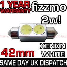 42MM INTERIOR LIGHT 264 FESTOON BULB 2w HIGH POWER SMD LED XENON WHITE BRIGHT UK