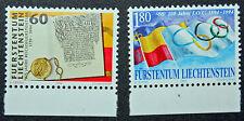 LIECHTENSTEIN - timbre/stamp Yvert et Tellier n°1022 à 1023 n** (cyn5)