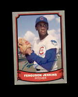 Ferguson Jenkins Signed 1988 Pacific Baseball Legends Chicago Cubs Autograph