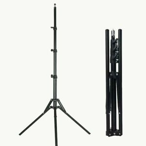 1.9M/74.8'' Light Stand Reverse folding stand Collapsible Support With bag