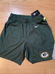 Nike NFL Nike Green Bay Packers Logo Core Shorts Sz Small BNwT NKB2-003Y