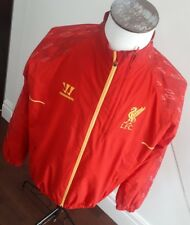 Liverpool FC Warrior Presentation Training Press Jacket RED   LFC - Rare ! LARGE