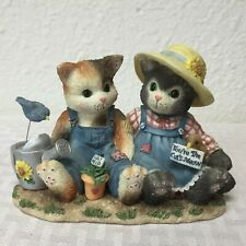 """Enesco Calico Kittens #204005 """" You're the Cat's Meow"""""""