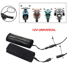 Motorcycle 22mm Electric Hand Heated Moded Grips ATV Warmers Handlebar Sleeve