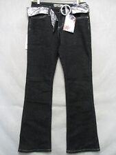 A6602 Crest Jeans Black P98916 NWT Jeans Women 30x32