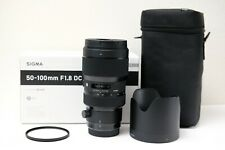 Canon Sigma 50-100mm f/1.8 DC HSM Art Lens for Canon EF
