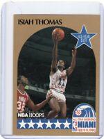1990 NBA HOOPS BASKETBALL CARD # 11 - HOF ISIAH THOMAS - DETROIT PISTONS