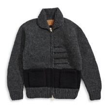 Hudson's Bay Company Hand Knit Sweater - Men Size XS Charcoal New W/Tag