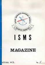 Vintage Magic INTER SERVICES MAGICAL SOCIETY (ISMS) - SEPTEMBER 1973 MAGAZINE