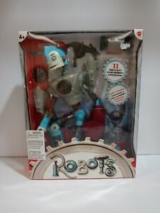 Robots Rodney 14 inch Build 'n' Battle Action Figure Toy New in box Mattel RARE
