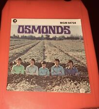 OSMOND 8 Track—- Fast Shipping World Wide!!!!