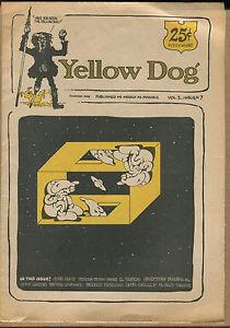 YELLOW DOG #7 - Underground/R. Crumb, Shelton - 1968 - (Grade VG/FN)