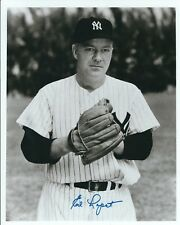 Signed  8x10 ED LOPAT New York Yankees Autographed Photo -  COA