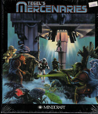 "PC Big Box 3.5"" Floppy Disk Game Tegel's Mercenaries 1992 Mindcraft NOS NIB"