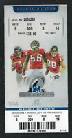 2012-13 NFL NFC CHAMPIONSHIP PLAYOFF 49ERS @ FALCONS FULL UNUSED FOOTBALL TICKET