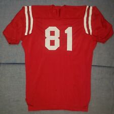 1960s Football Game Used Rawlings Durene Jersey NCSU Wolfpack Colors