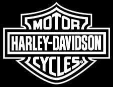 Harley Davidson Logo Cutz Rear Window Decal, Motorcycle Truck Car Sticker - SALE