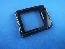 Original Nokia 8800 Sirocco A Cover Front Cover Schwarz Display mit Glas Black