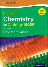 Complete Chemistry for Cambridge IGCSE Revision Guide New Paperback Book RoseMar