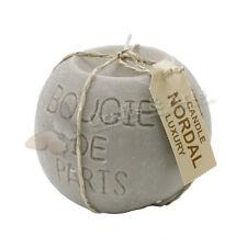 Nordal Kerze rund 'Bougie de Paris'