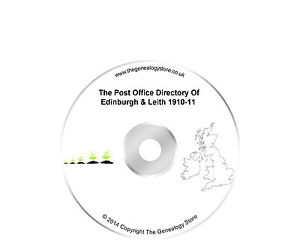 The Post Office Directory Of Edinburgh & Leith 1910-11