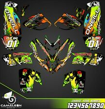 Polaris Predator 500 graphics full decals stickers kit atv