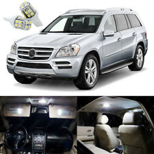 17 x Xenon White LED Interior Light Package Kit For Mercedes Benz GL 2006 - 2012