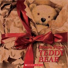 Brown Paper Teddy Bear by Allison, Catherine