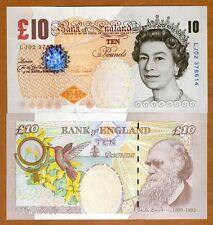 Great Britain, 10 pounds, 2000 (2015), P-389e, QEII, UNC > Darwin